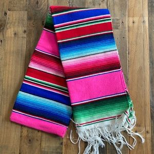 Authentic Mexican blanket- new